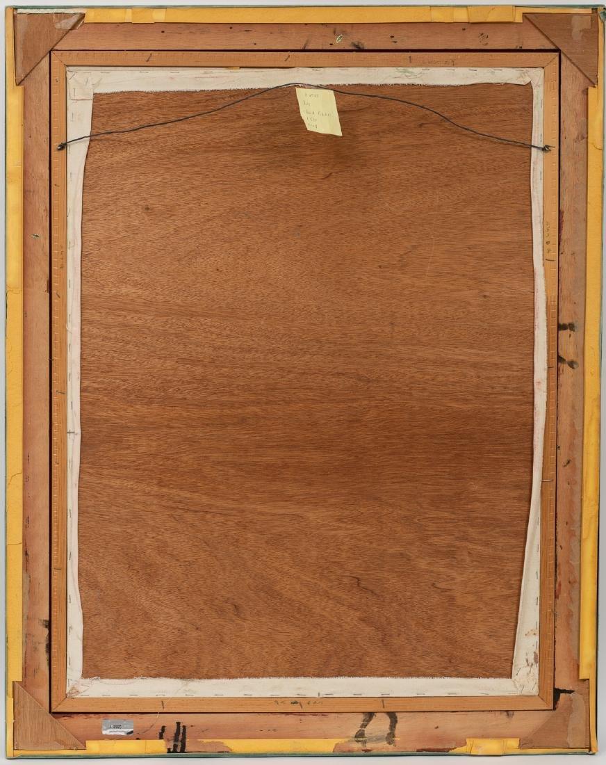 David Adickes (b. 1927), Pose, oil on canvasboard, - 4