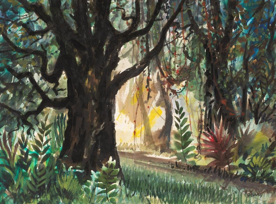 Michael Frary (1918-2005), Through the Trees,