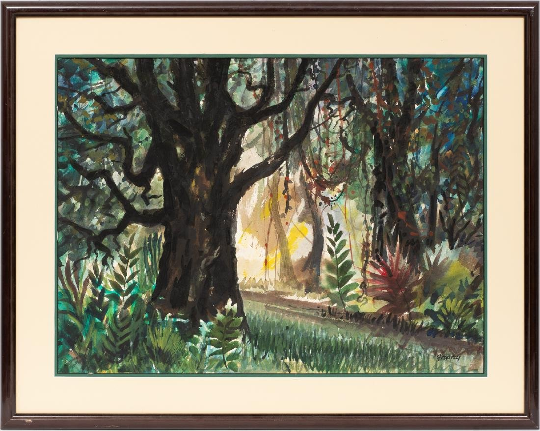 Michael Frary (1918-2005), Through the Trees, - 2
