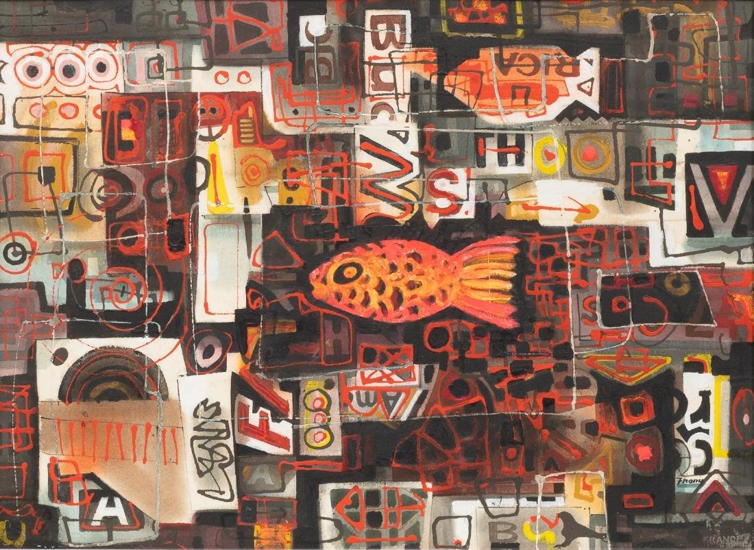 "Michael Frary (1918-2005), ""Goldfish"", 1960,"
