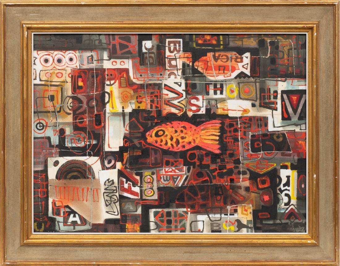 "Michael Frary (1918-2005), ""Goldfish"", 1960, - 2"
