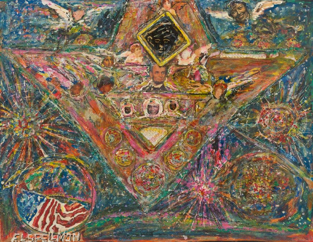 "F.L. ""Doc"" Spellmon (1925-2008), ""Art in Space"""