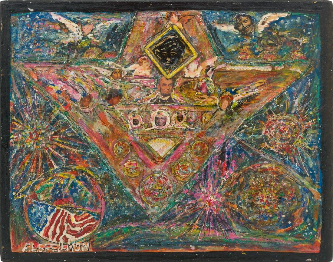 "F.L. ""Doc"" Spellmon (1925-2008), ""Art in Space"" - 2"