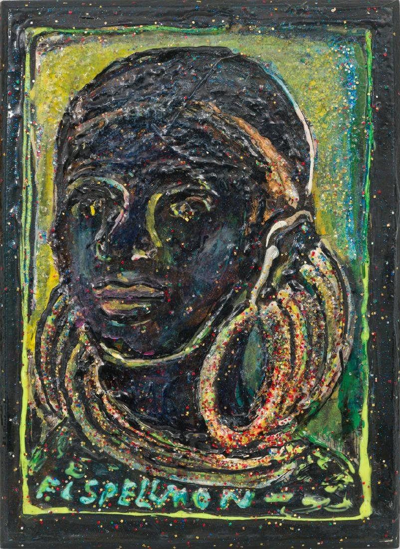 "F.L. ""Doc"" Spellmon (1925-2008), ""African Woman"""
