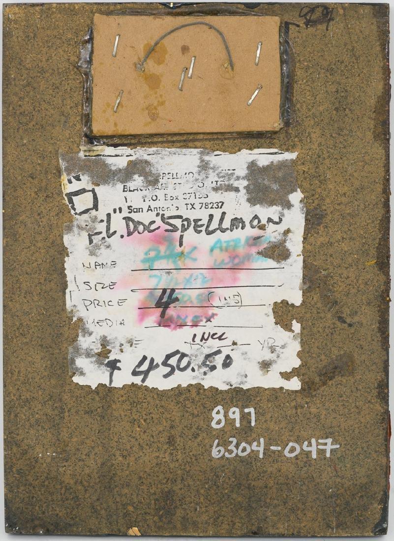 "F.L. ""Doc"" Spellmon (1925-2008), ""African Woman"" - 3"