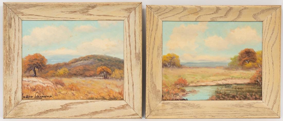 Pedro Lazcano (1909-1973), Pair of Autumn Landscapes - 2