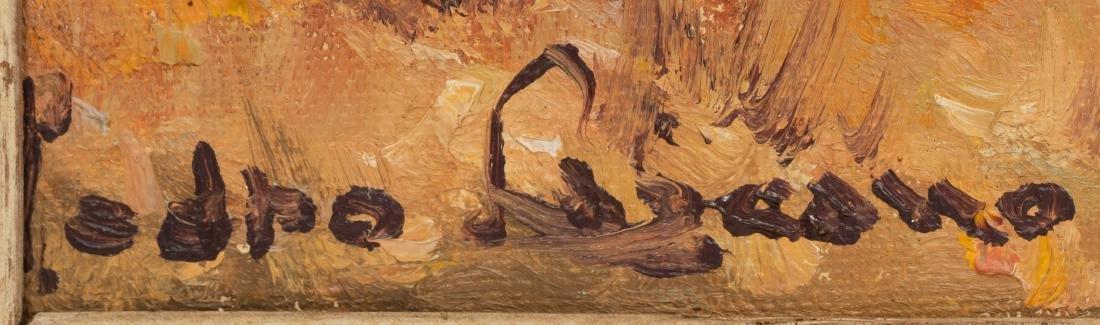 Pedro Lazcano (1909-1973), Pair of Autumn Landscapes - 3