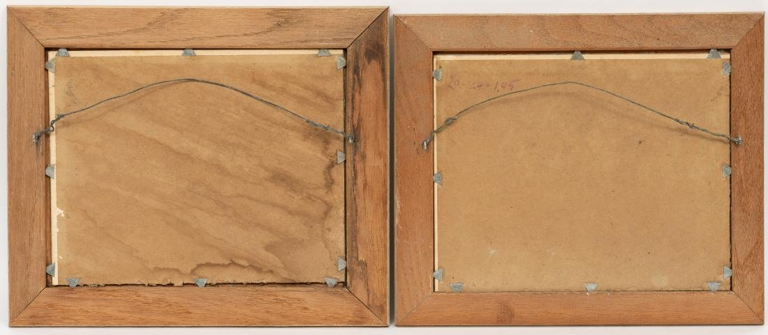 Pedro Lazcano (1909-1973), Pair of Autumn Landscapes - 5