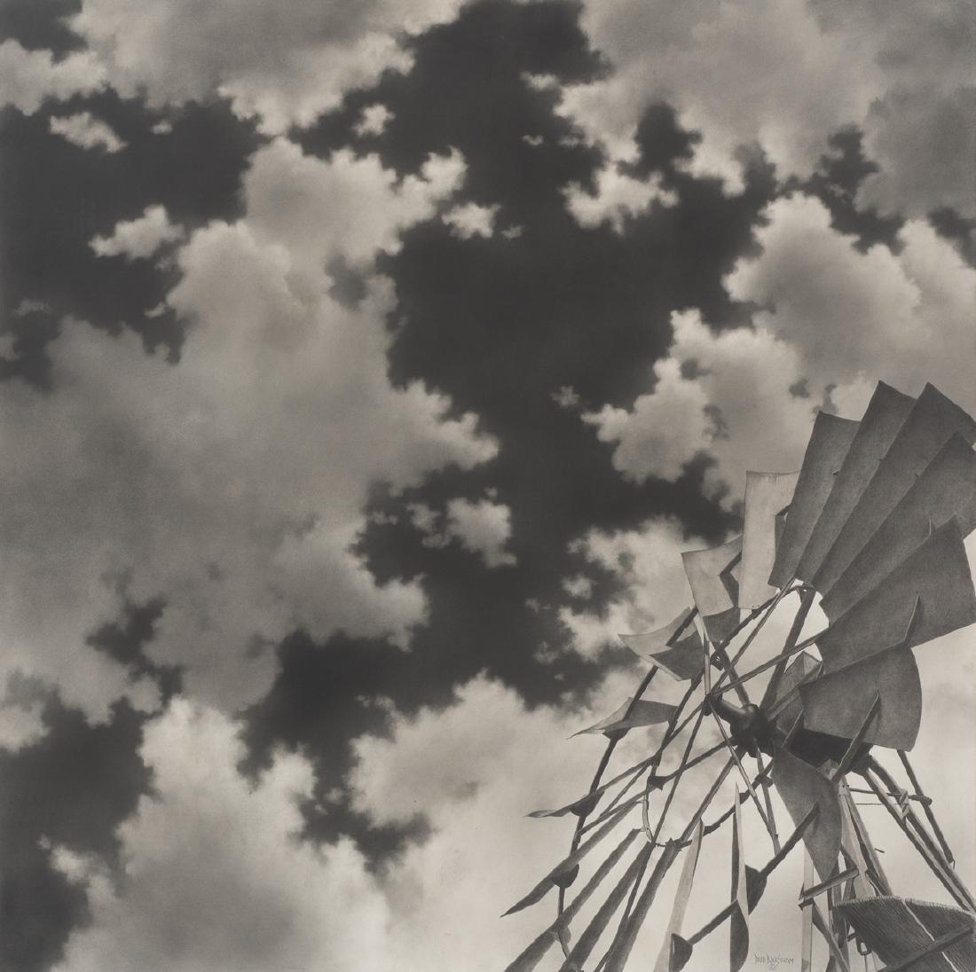 "David Bjurstrom, ""Skygazer"", graphite, 30 x 30"""