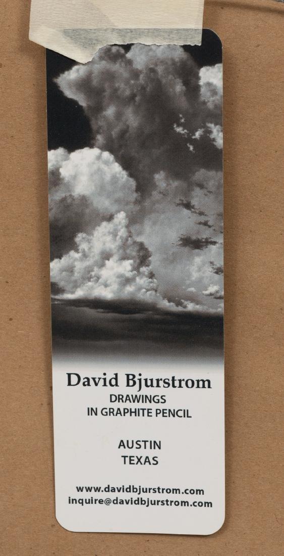 "David Bjurstrom, ""Skygazer"", graphite, 30 x 30"" - 4"