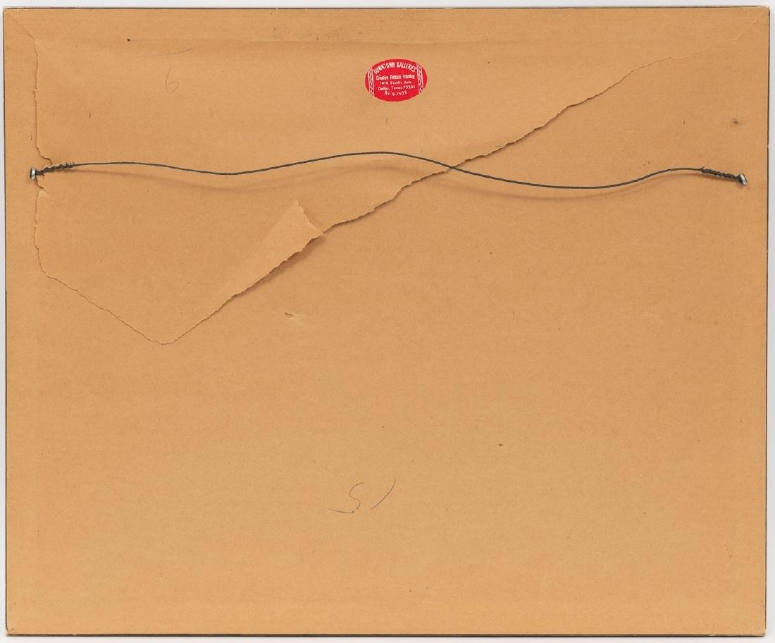Wayne Baize (b. 1943), Cowboys, 1970, pencil on paper - 4