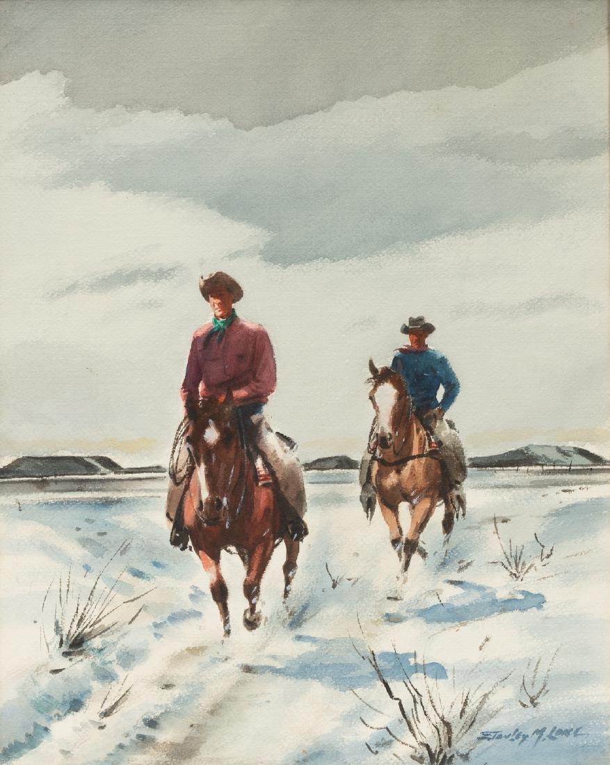 "Stanley Long (1892-1972), ""Crossing the Range"","
