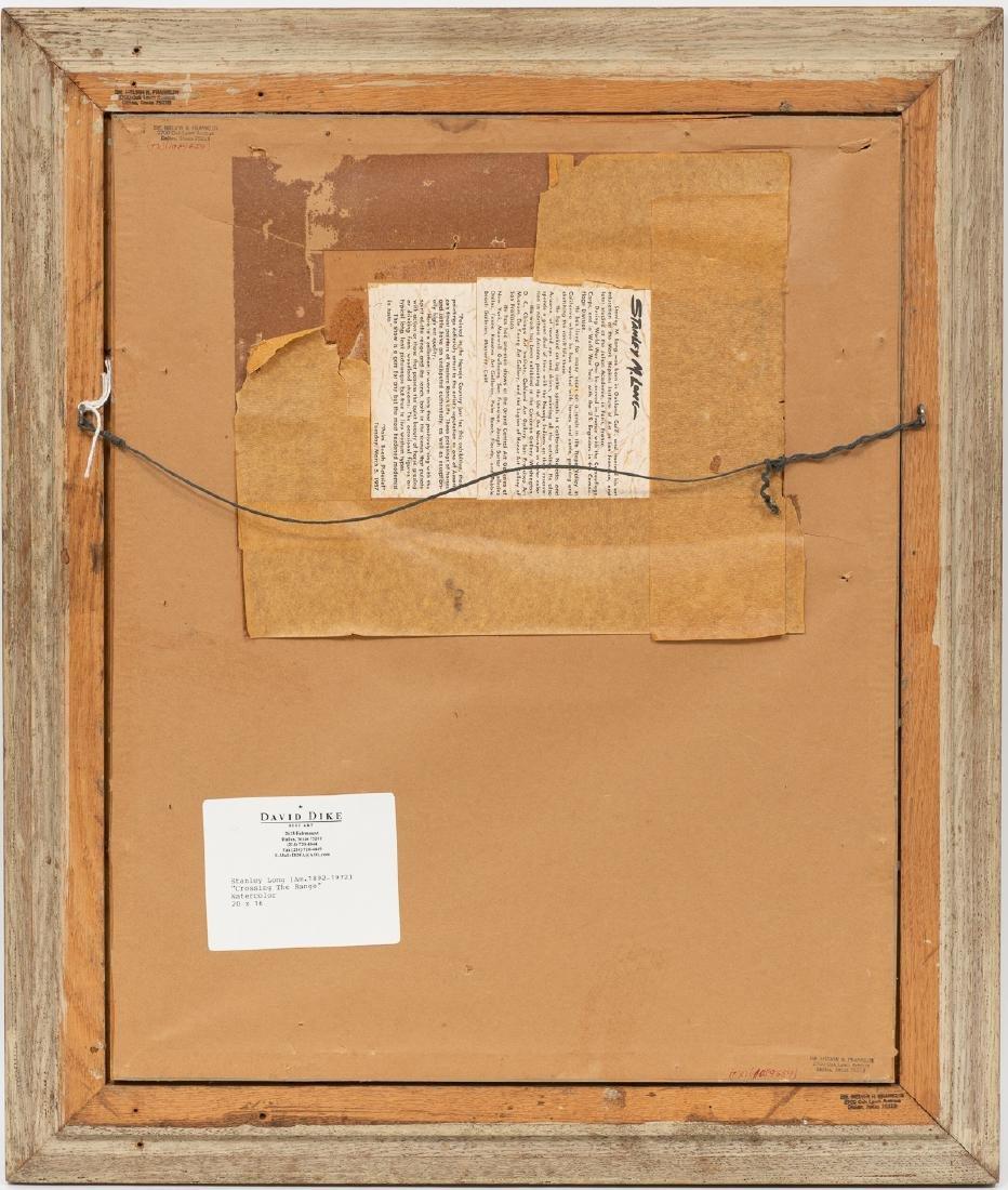 "Stanley Long (1892-1972), ""Crossing the Range"", - 4"