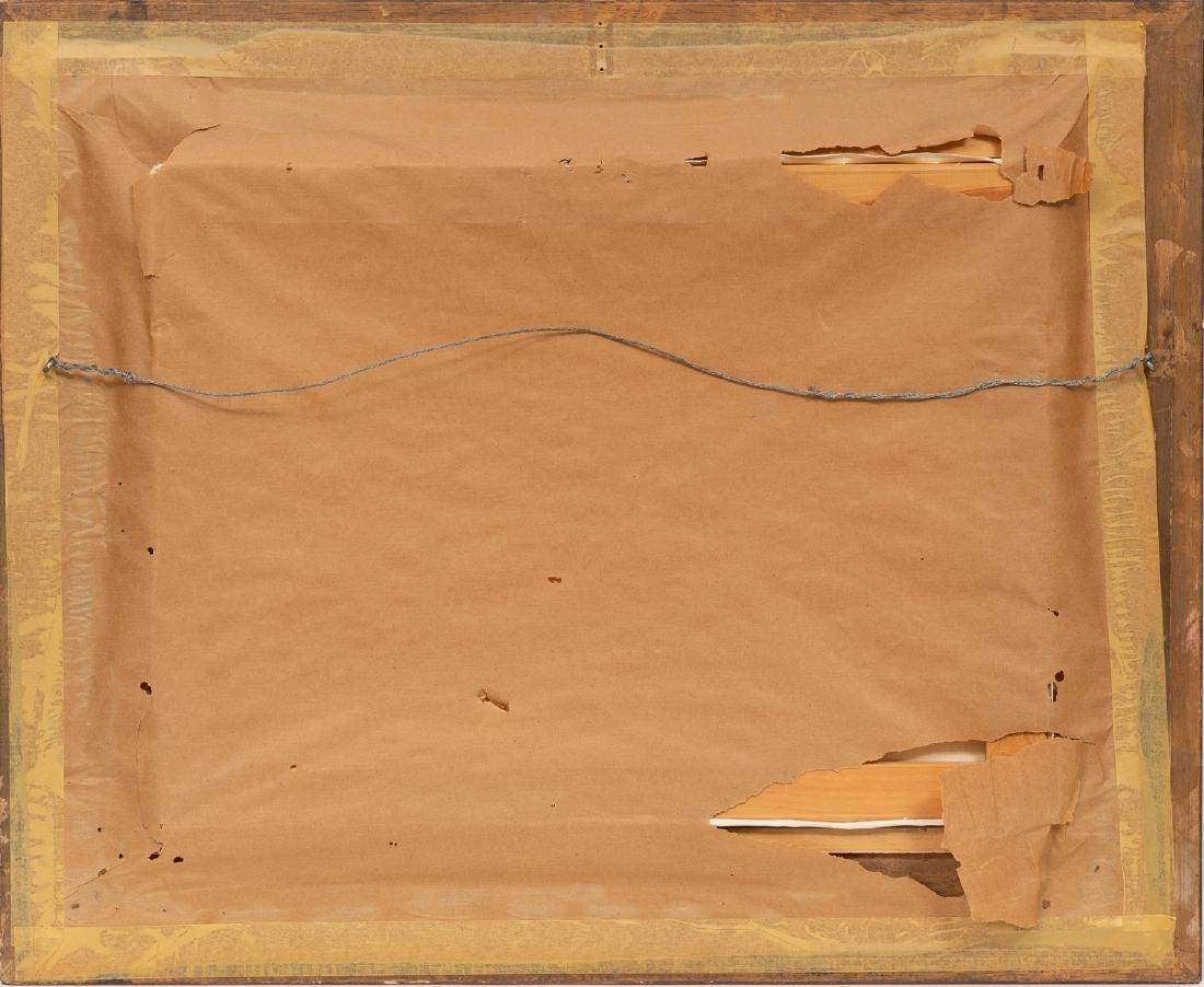 "Roger Iker, Wagon Train, oil on canvas, 18 x 24.5"" - 4"