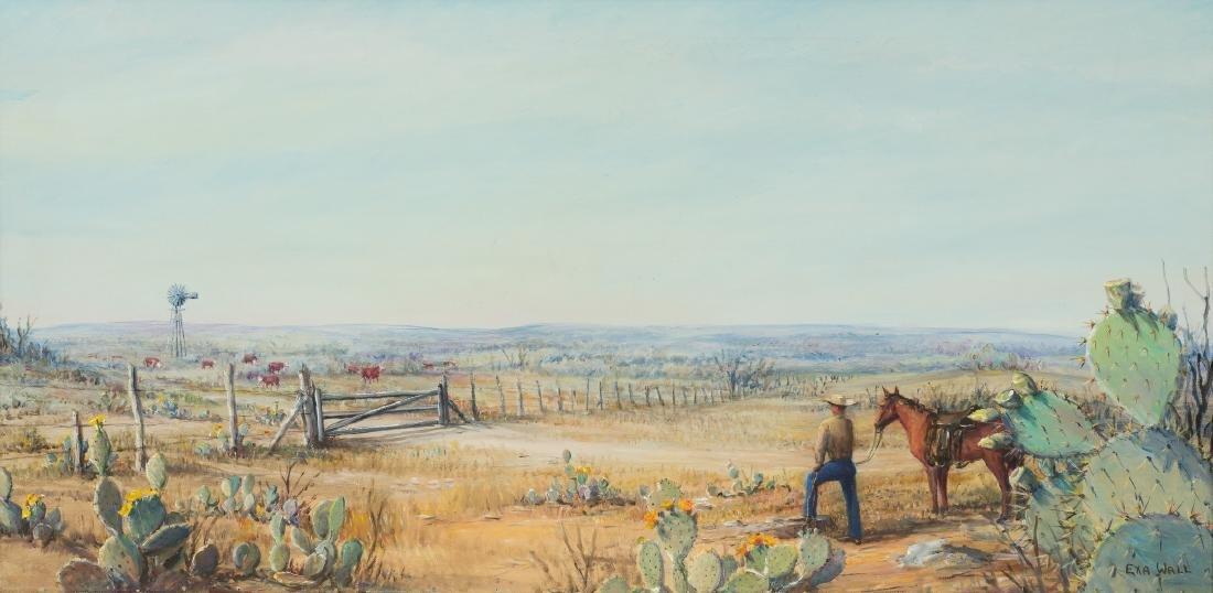 "Exa Wall (1897-1972), ""Dream of Empire"", 1965, oil"