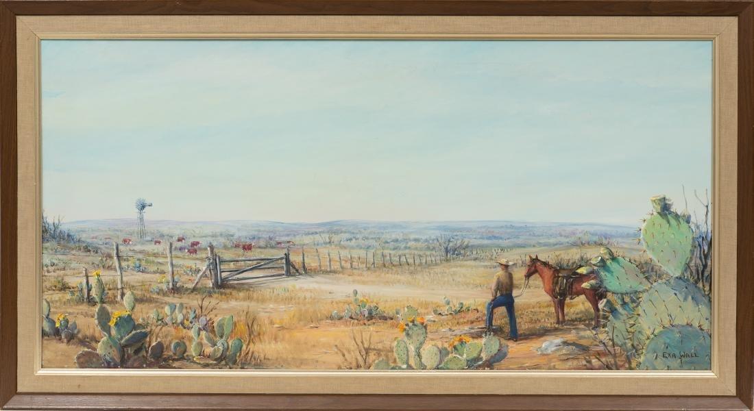 "Exa Wall (1897-1972), ""Dream of Empire"", 1965, oil - 2"
