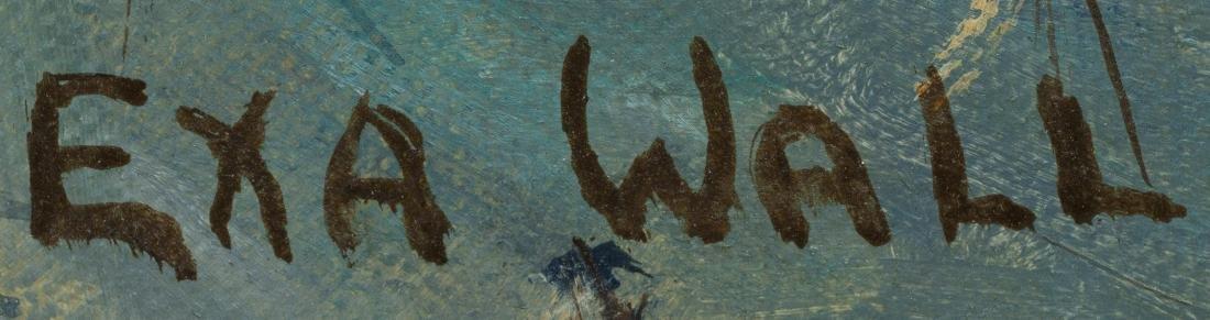 "Exa Wall (1897-1972), ""Dream of Empire"", 1965, oil - 3"
