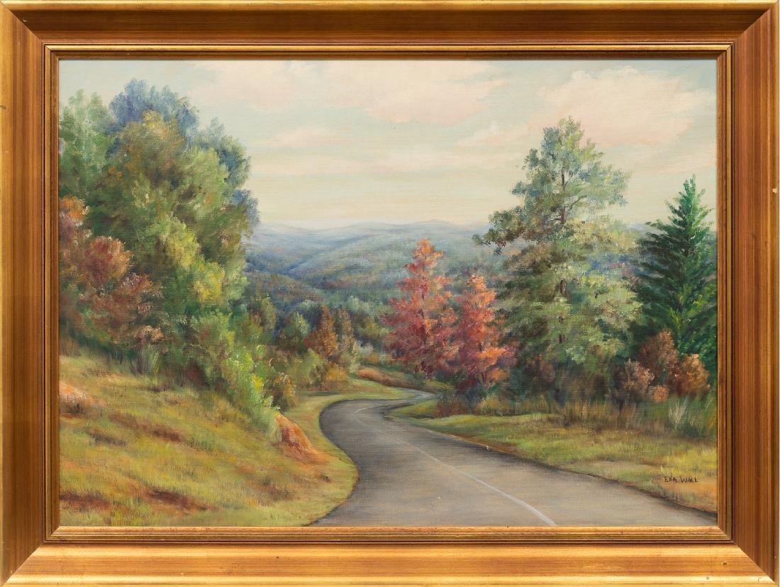 "Exa Wall (1897-1972), ""The Great Smokies"", 1950, oil - 2"