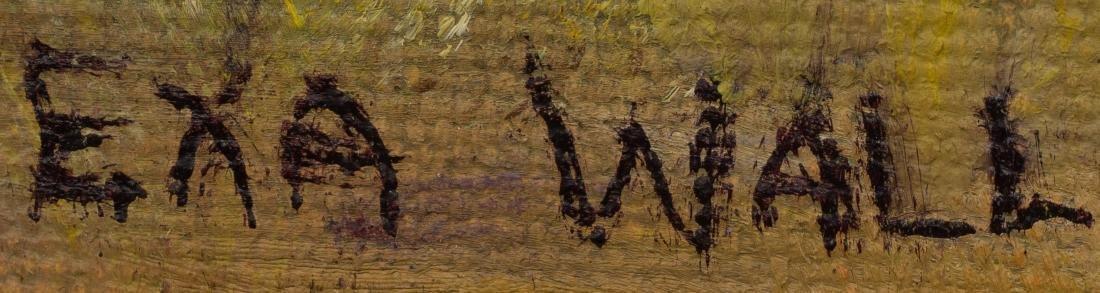 "Exa Wall (1897-1972), ""The Great Smokies"", 1950, oil - 3"