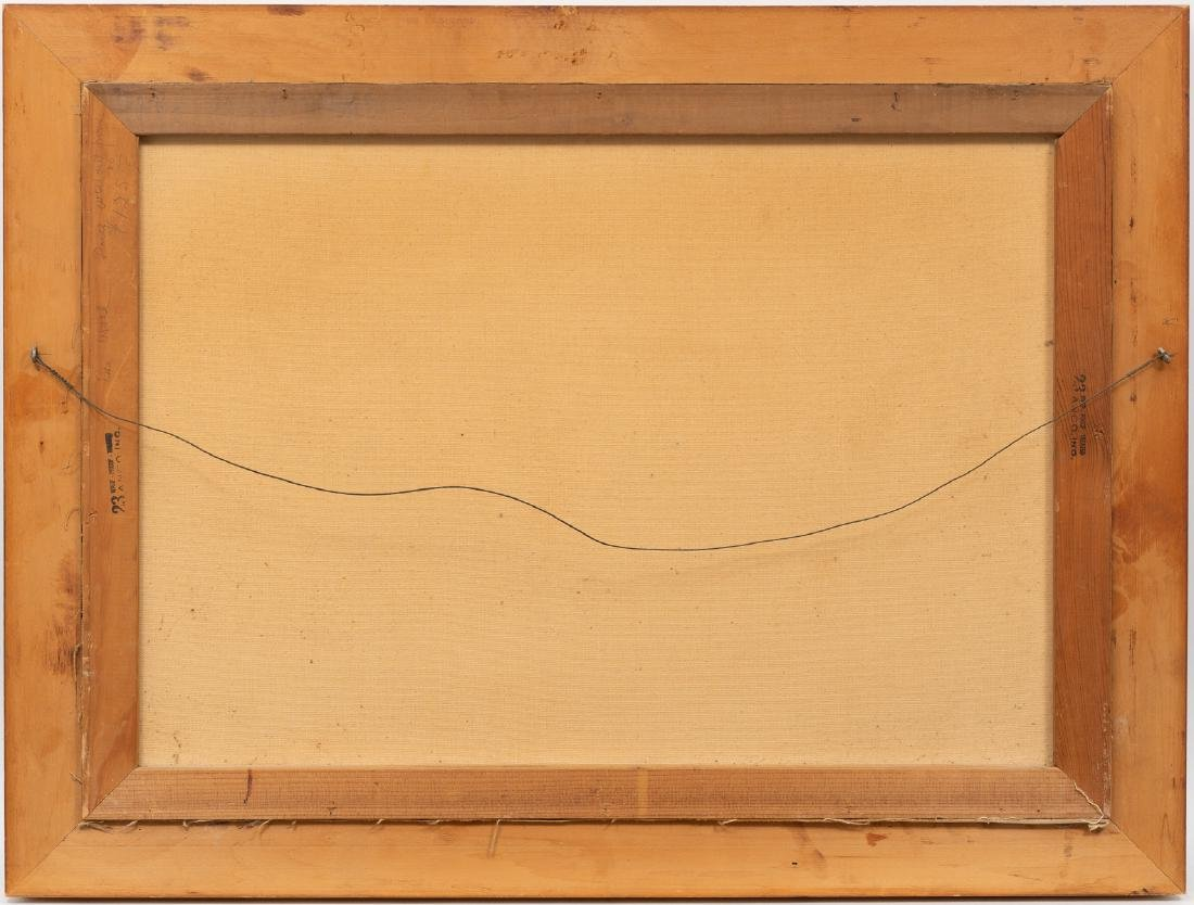 "Exa Wall (1897-1972), ""The Great Smokies"", 1950, oil - 4"