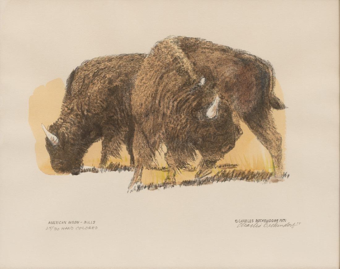 "Charles Beckendorf (1930-1996), ""American Buffalo -"