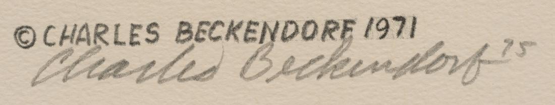 "Charles Beckendorf (1930-1996), ""American Buffalo - - 3"
