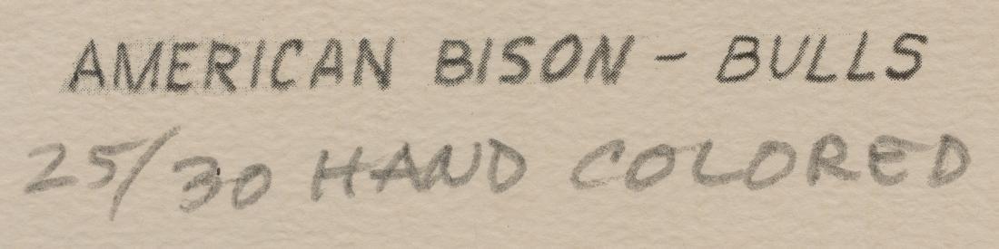 "Charles Beckendorf (1930-1996), ""American Buffalo - - 5"