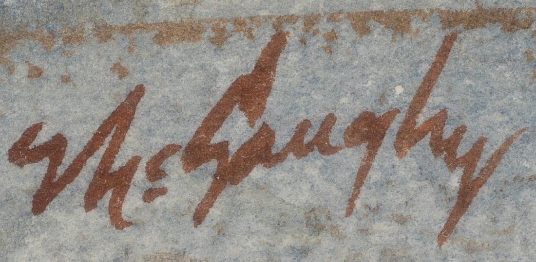 "Clay McGaughy (b. 1931), ""Junction"", watercolor - 3"