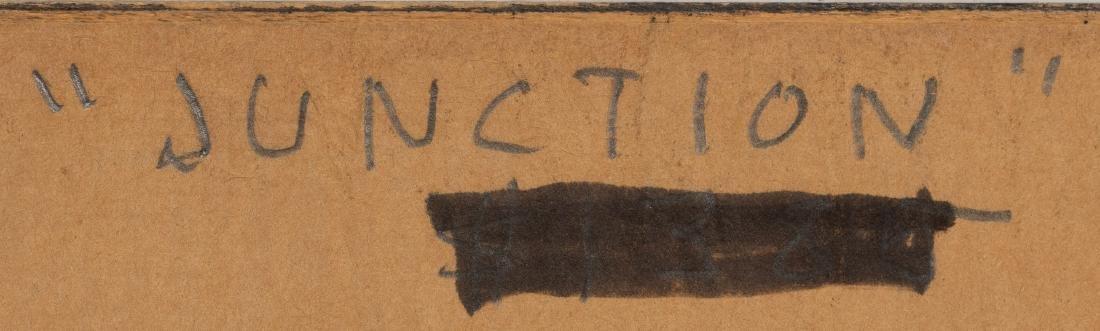 "Clay McGaughy (b. 1931), ""Junction"", watercolor - 5"