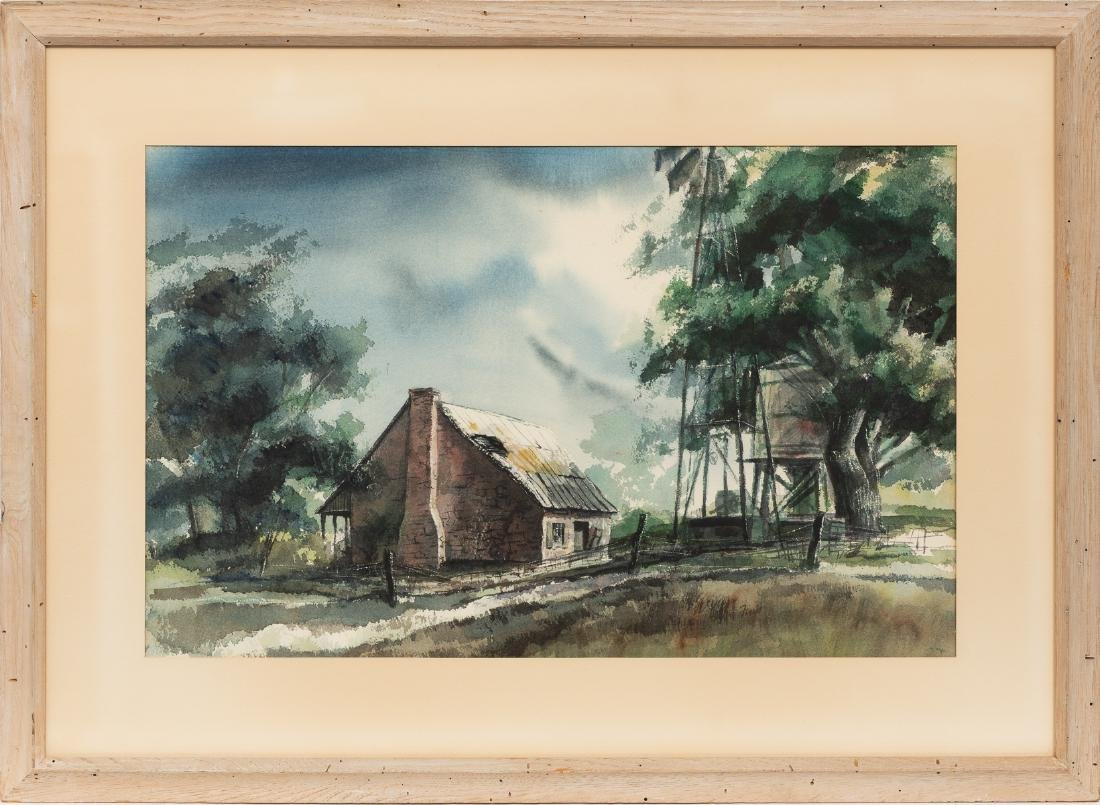 """Finis Collins, """"Summer Afternoon at Leon Springs"""", - 2"""