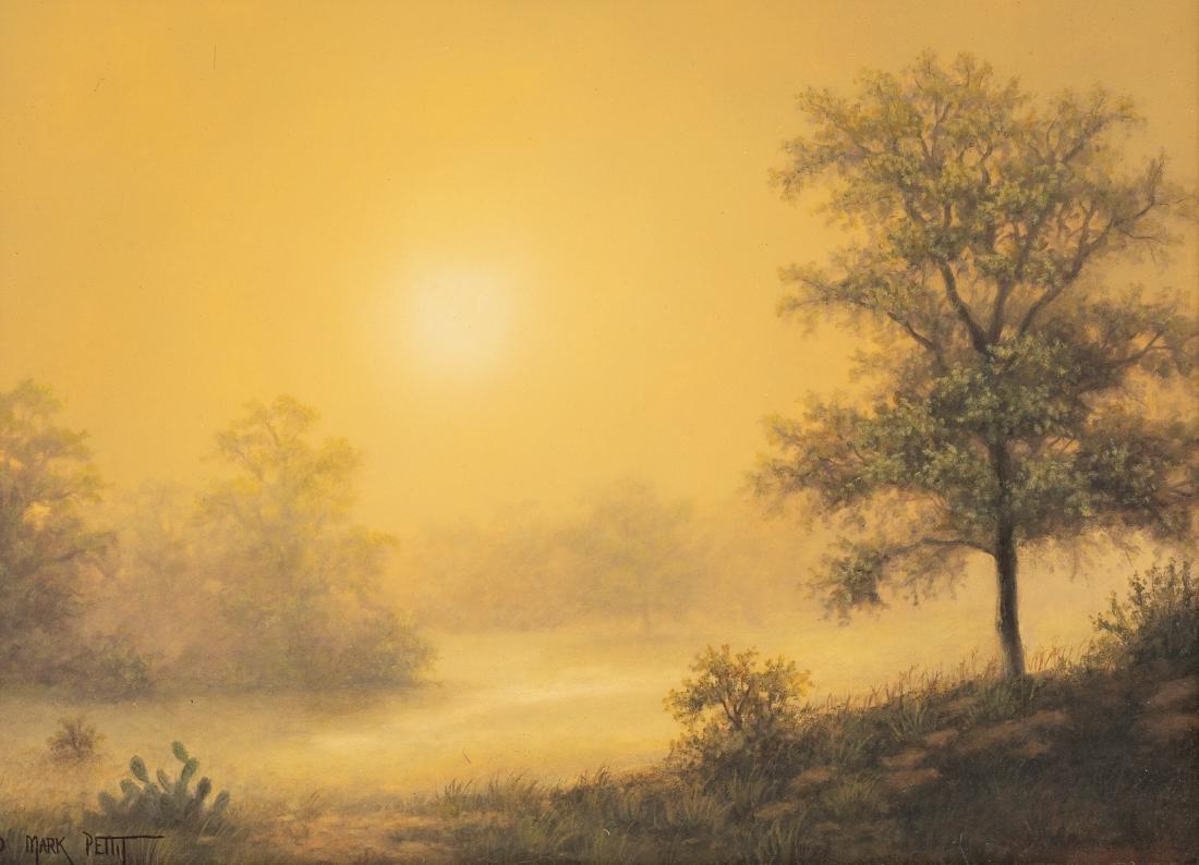 Mark Pettit (b. 1957), Texas Landscape, oil on canvas,