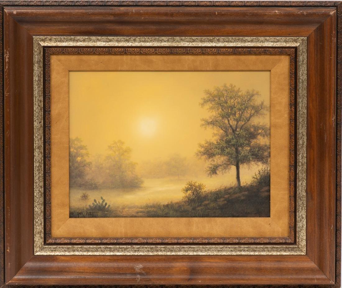 Mark Pettit (b. 1957), Texas Landscape, oil on canvas, - 2