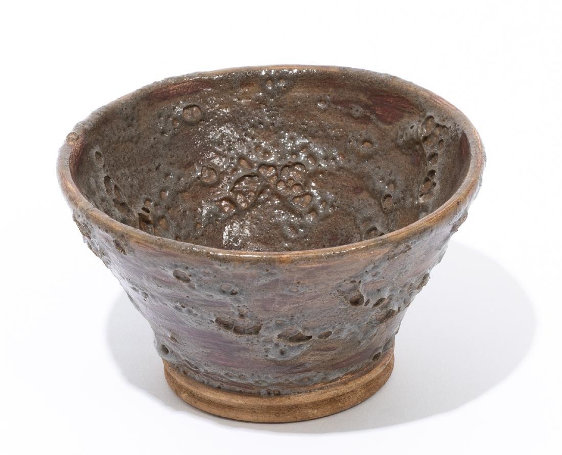 Harding Black (1912-2004), Early lava glaze bowl, 1937,