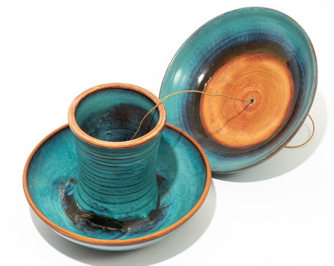 Harding Black (1912-2004), Turquoise bird feeder, 1974 - 3