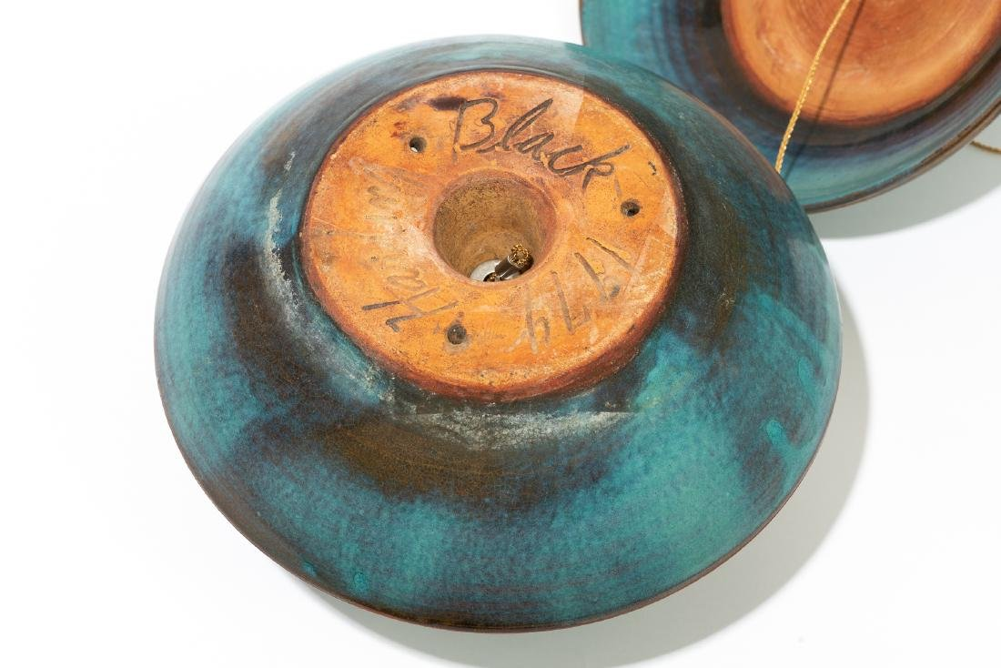 Harding Black (1912-2004), Turquoise bird feeder, 1974 - 4