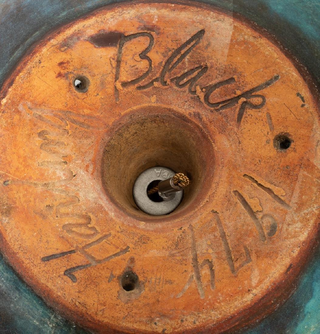 Harding Black (1912-2004), Turquoise bird feeder, 1974 - 5