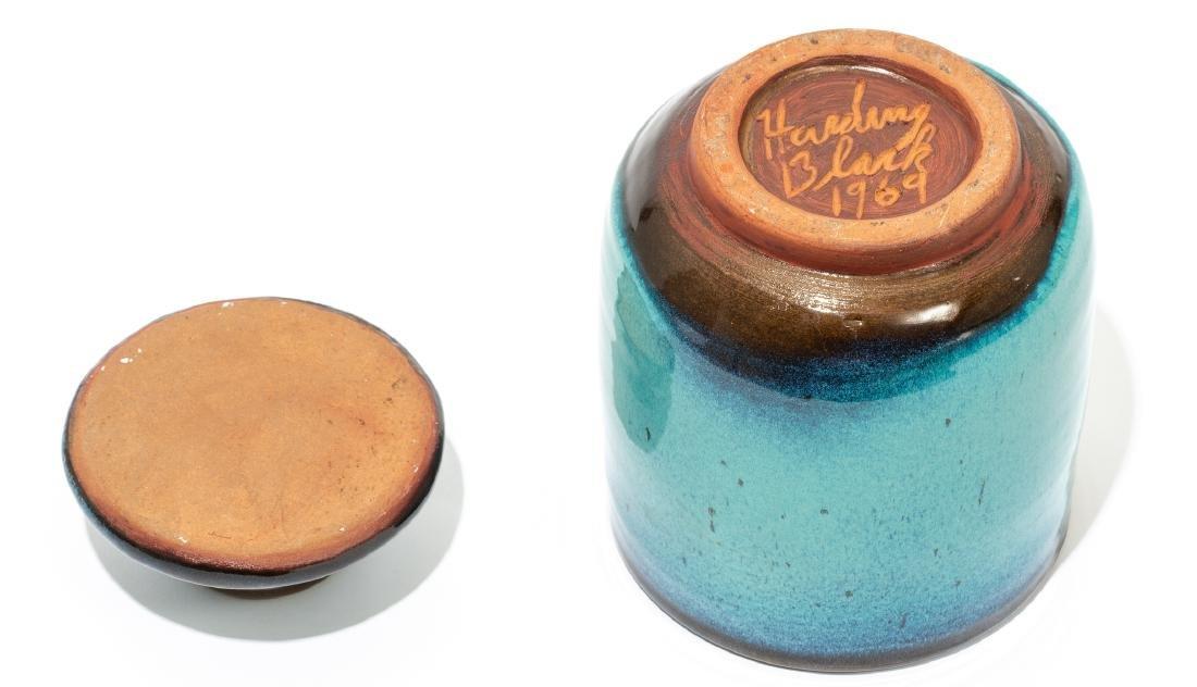 Harding Black (1912-2004), Turquoise lidded jar, 1969, - 5