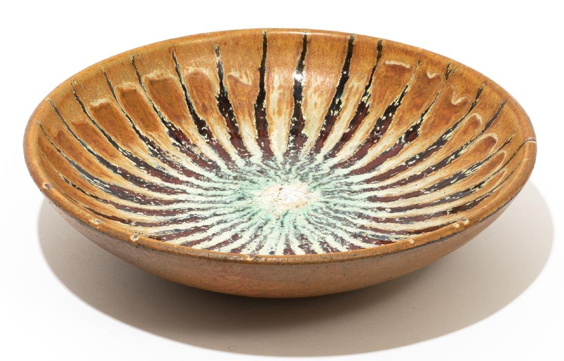 Harding Black (1912-2004), Striped bowl, 1958, - 2