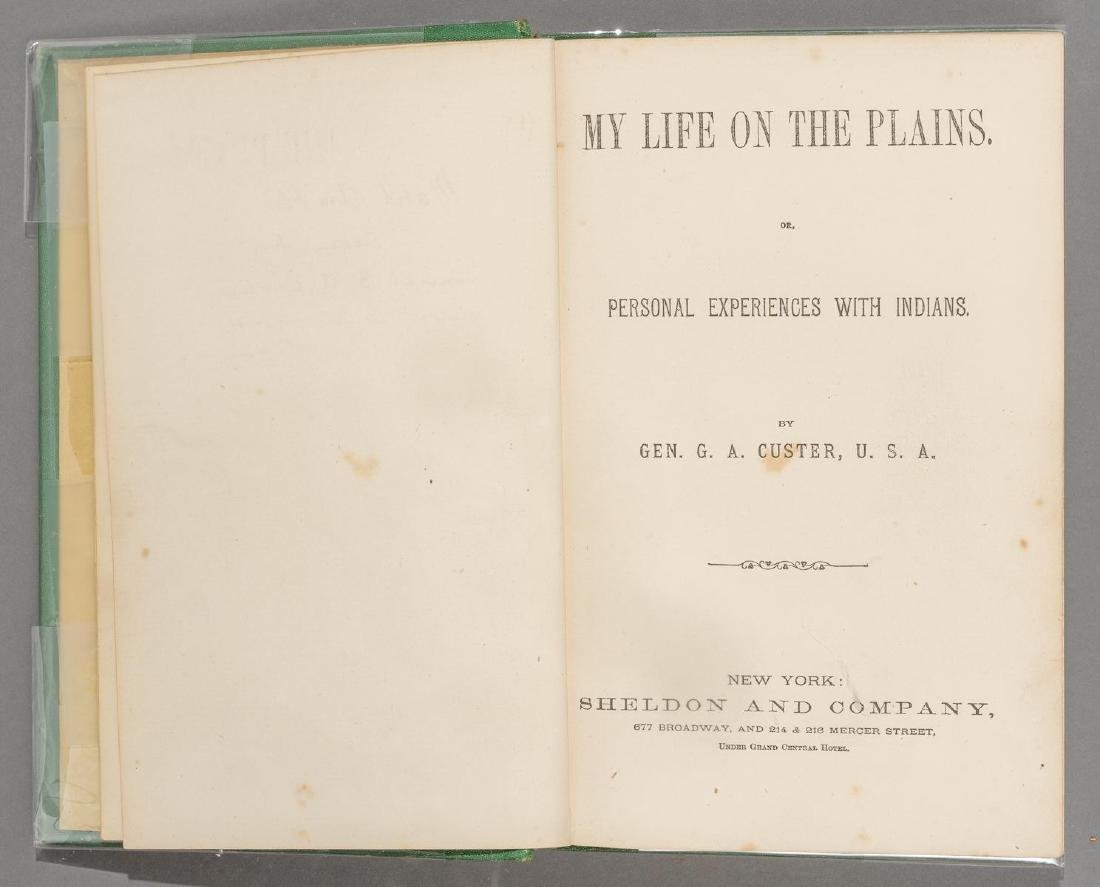 "Custer, Gen. George A. ""Life on the Plains; or, - 2"