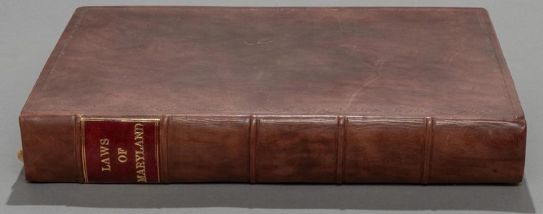 "Bacon, Thomas ""Laws of Maryland"", 1765 - 7"