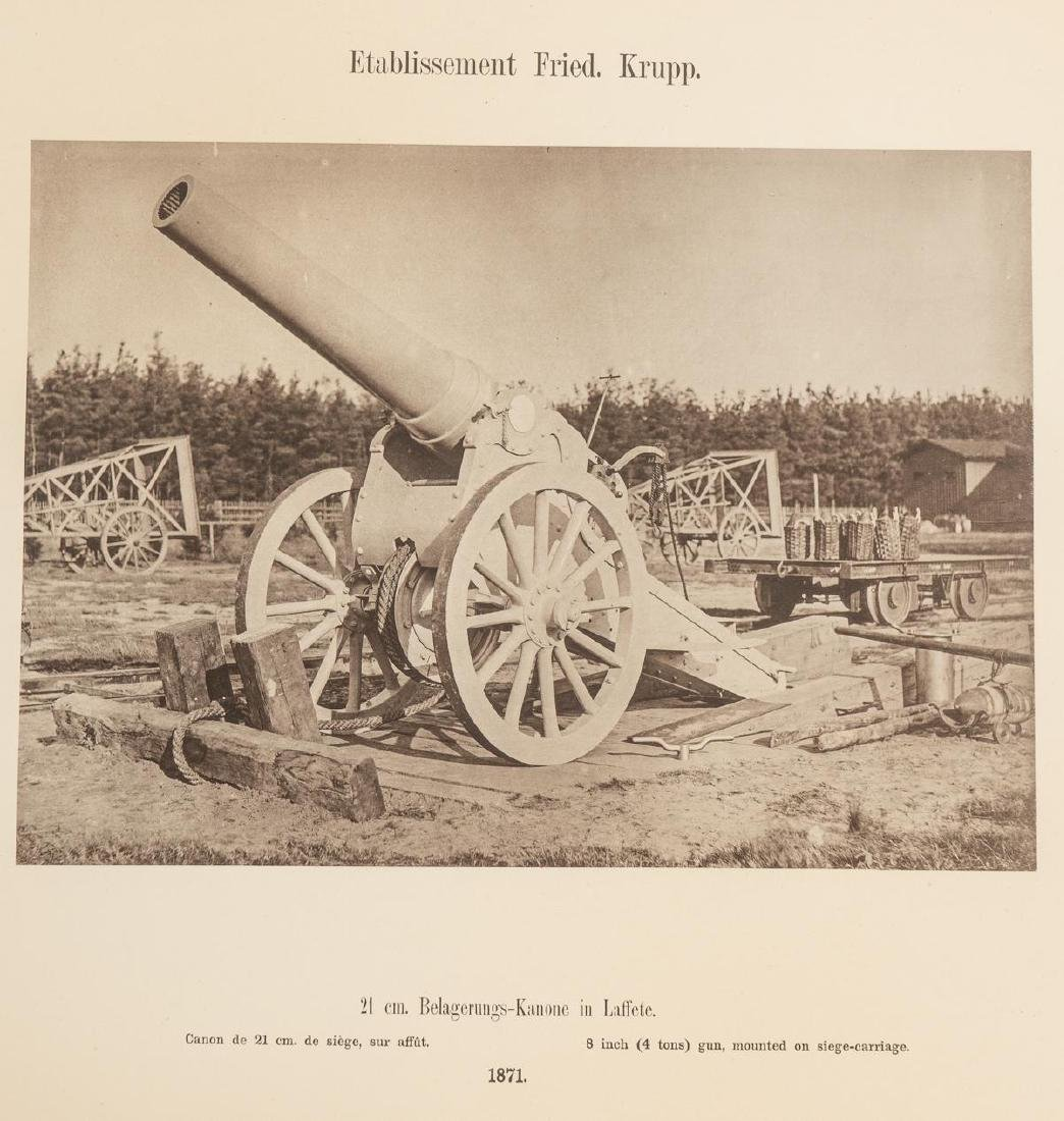 Fried. Krupp Essen A Collection of 56 Military Prints