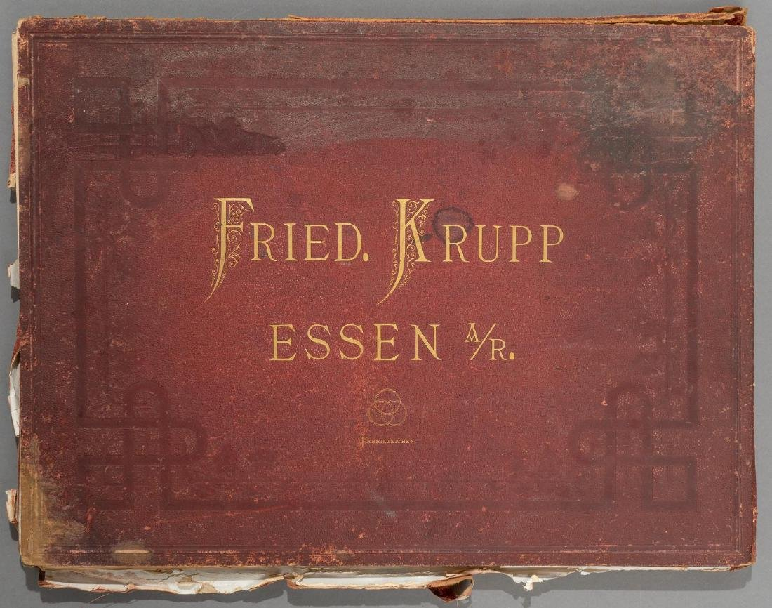 Fried. Krupp Essen A Collection of 56 Military Prints - 2