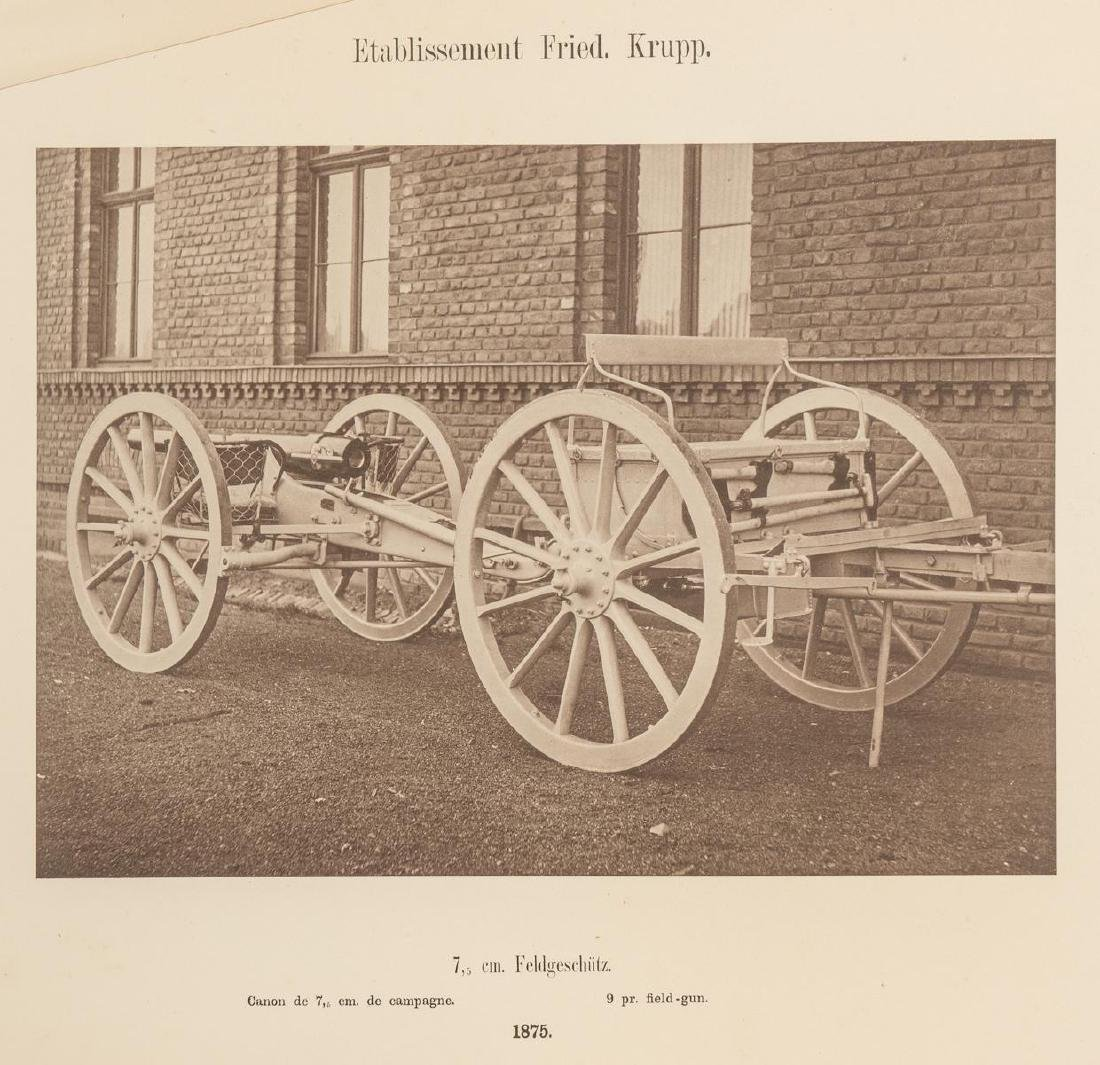 Fried. Krupp Essen A Collection of 56 Military Prints - 5