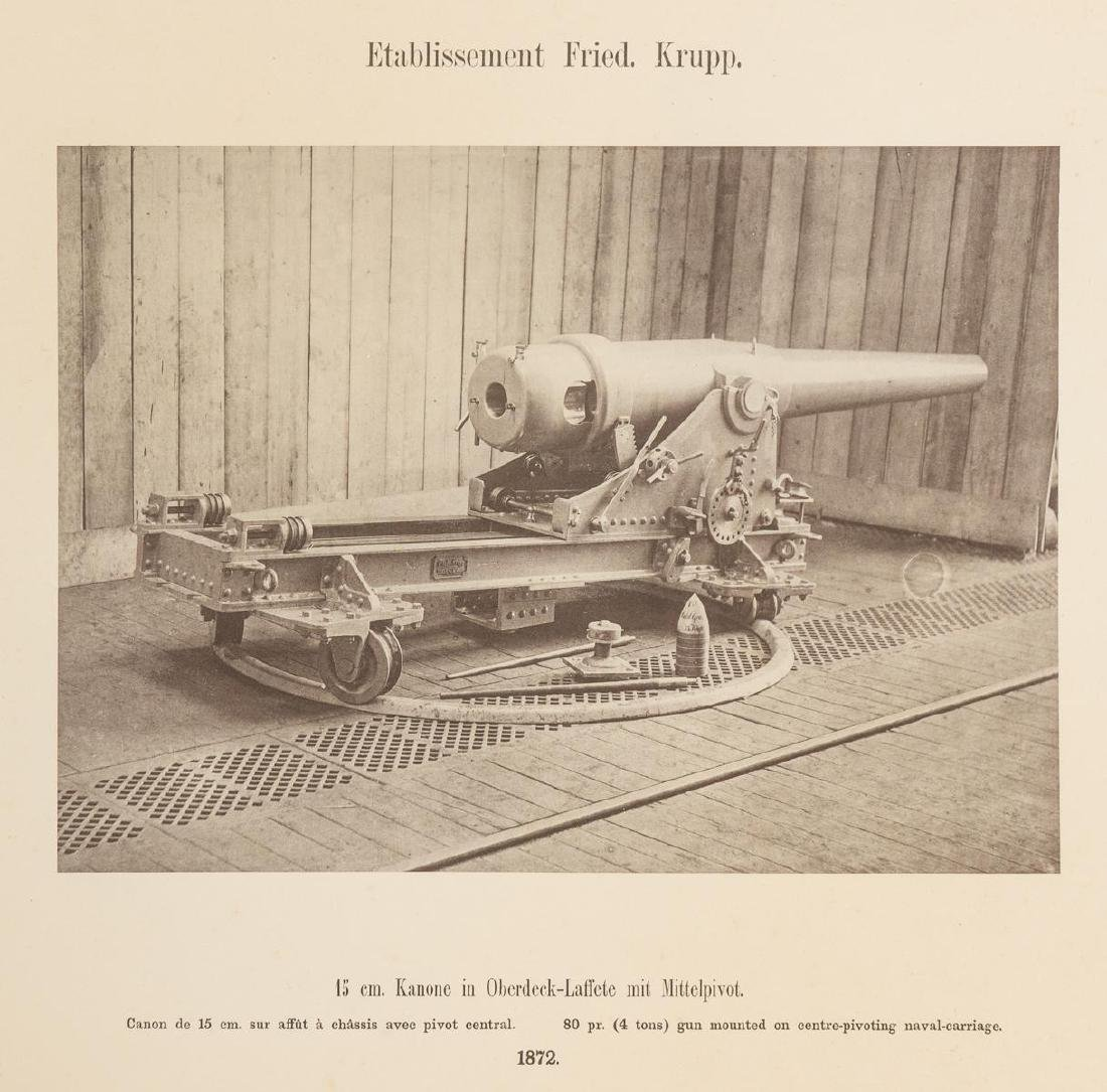 Fried. Krupp Essen A Collection of 56 Military Prints - 6