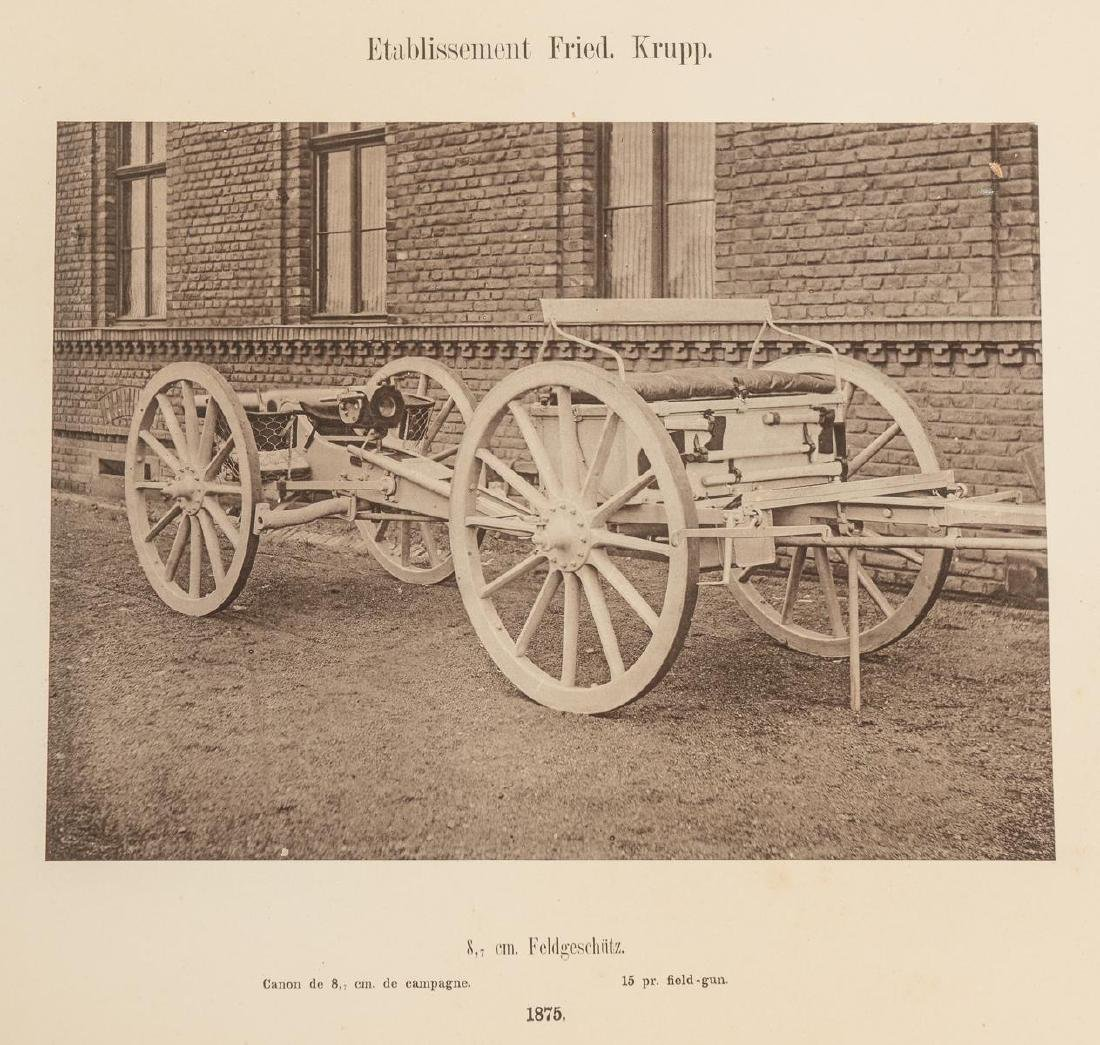 Fried. Krupp Essen A Collection of 56 Military Prints - 7