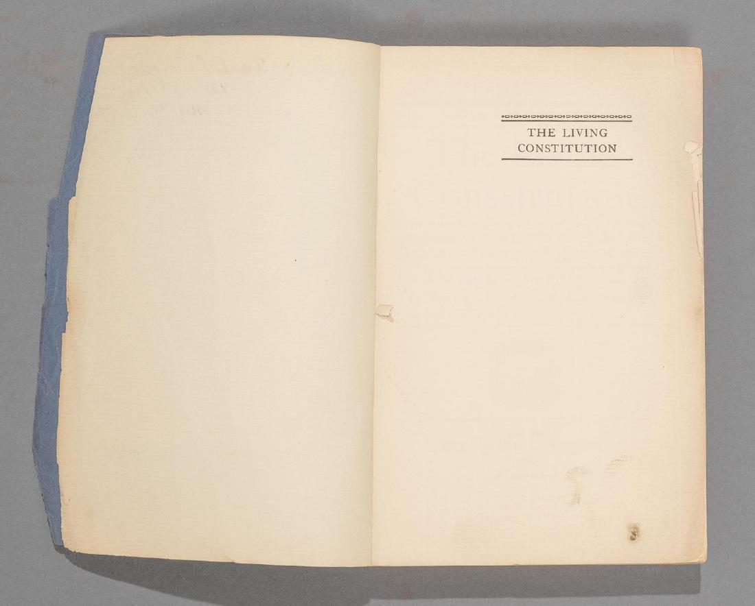 """McBain, Howard """"The Living Constitution"""", 1928 - 4"""