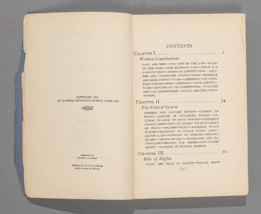 """McBain, Howard """"The Living Constitution"""", 1928 - 5"""