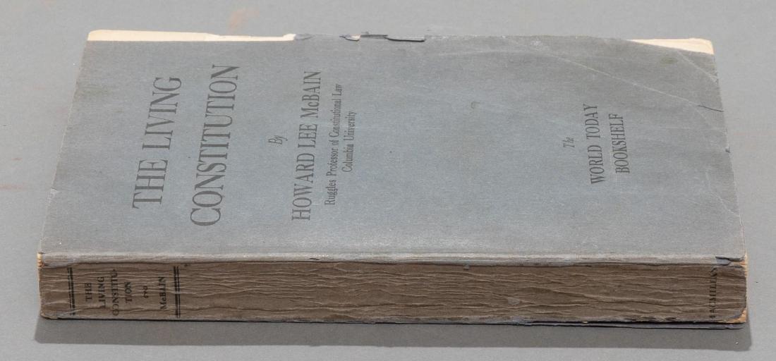 """McBain, Howard """"The Living Constitution"""", 1928 - 7"""