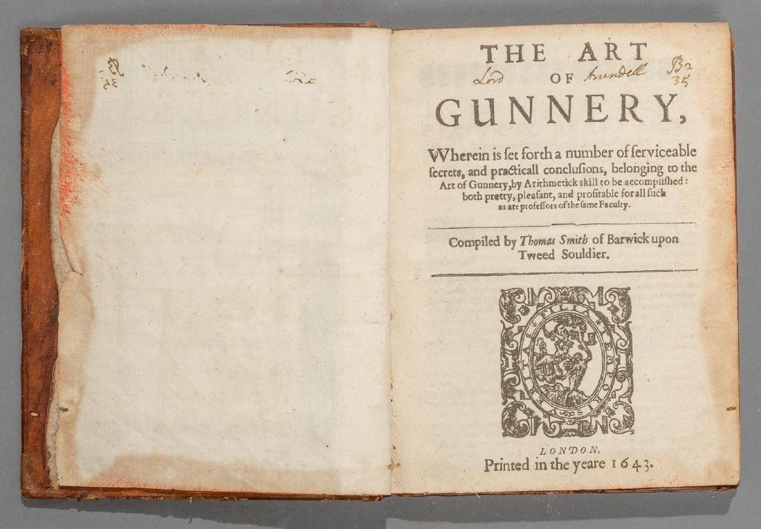 """Smith, Thomas """"The Art of Gunnery"""", 1643"""