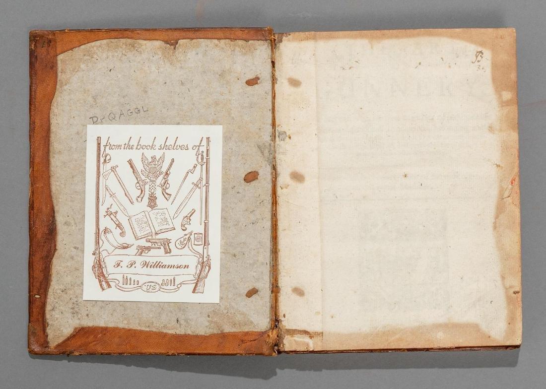 """Smith, Thomas """"The Art of Gunnery"""", 1643 - 2"""